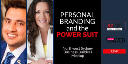 Local Business North West Sydney FREE Networking & Personal Branding Masterclass Event