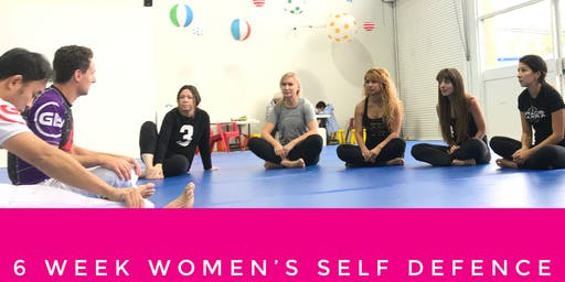 Women's 6 week Self defence Course