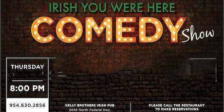 Comedy Night at Kelly Brothers! November 14th tickets