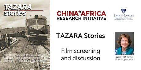 """TAZARA Stories"" – Screening of Film on Memories of Work on TAZARA Railway tickets"