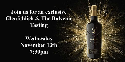 Glenfiddich & The Balvenie Tasting