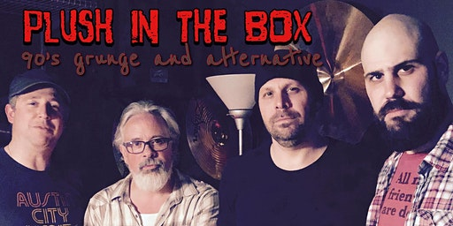 Plush in the Box (90s grunge/alt tribute) + Party Line (80s tribute)