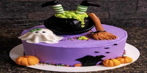Halloween Cake Decorating Class