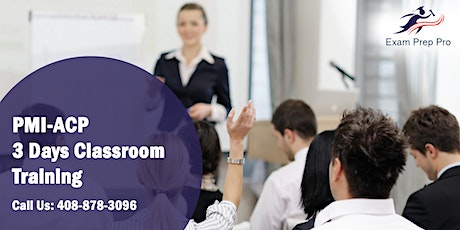 PMI-ACP 3 Days Classroom Training in Mississauga,ON tickets