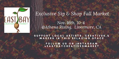Sip & Shop Friends & Family Fall Pop-up Market