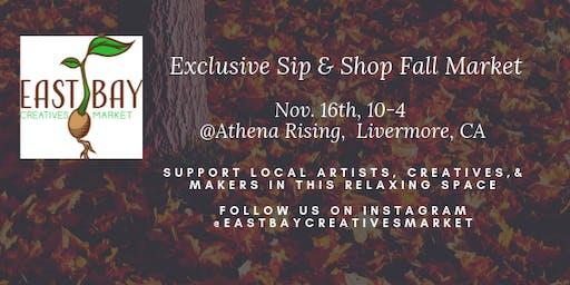 Sip & Shop Friends & Family Fall Pop-up Market