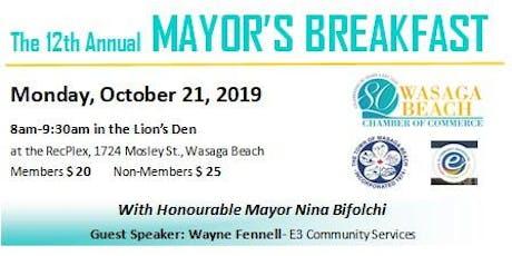 Mayor's Breakfast tickets
