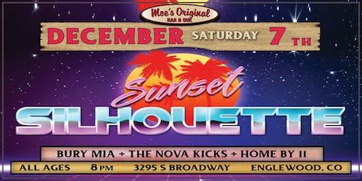 Sunset Silhouette w/ Bury MIA + The Nova Kicks + Home by 11