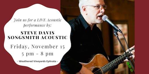 Steve Davis Songsmith Acoustic LIVE at Weathered Vineyards EPH