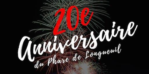 20ème anniversaire du Phare de Longueuil