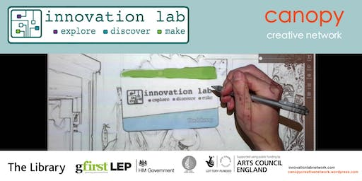 Coleford innovation lab: Dabble with Digital. 13.00 - 15.00