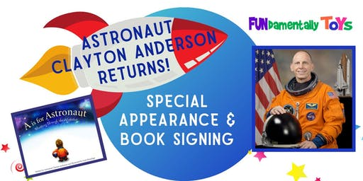 Astronaut Clayton Anderson Appearance & Book Signing