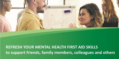 Standard Mental Health First Aid - REFRESHER