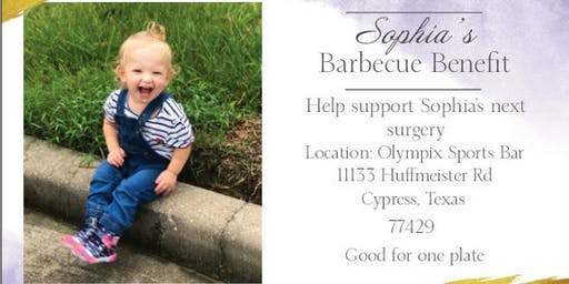 Sophia's Barbeque Benefit