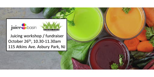 Juicing Workshop with Free $300 value Electronic Juicer Included.