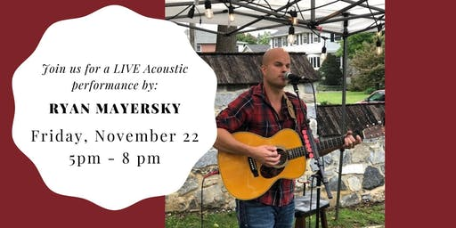 Ryan Mayersky LIVE at Weathered Vineyards Ephrata