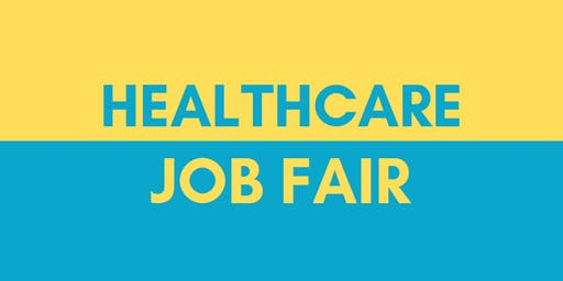 Healthcare Job Fair - October 22, 2019