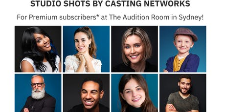 Casting Networks Headshot Sessions October 18 - Sydney tickets