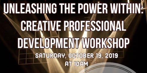 MCC MASTER CLASS: Creative Professional Development with JoMarie Payton
