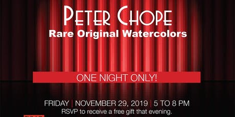 Peter Chope Celebration tickets