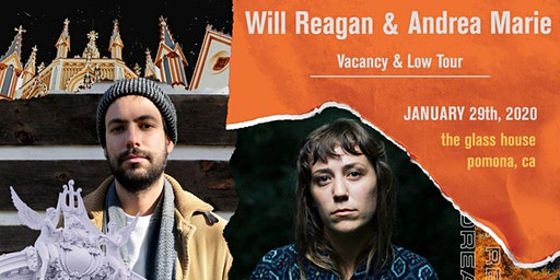 Will Reagan & Andrea Marie - Vacancy & Low Tour
