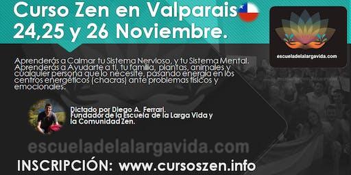 Curso Zen en Valparaiso: 24,25 y 26 Noviembre.