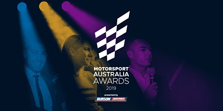 2019 Motorsport Australia National Awards Gala Dinner tickets