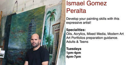 Ismael Gomez Peralta, Painting & Drawing Classes tickets