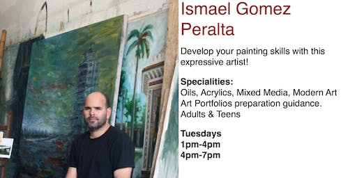 Ismael Gomez Peralta, Painting & Drawing Classes