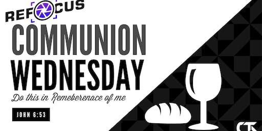 Communion Wednesday