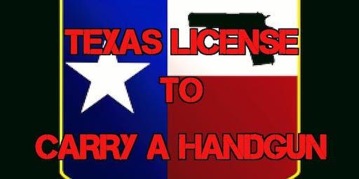 Special Texas License to Carry a Handgun Class