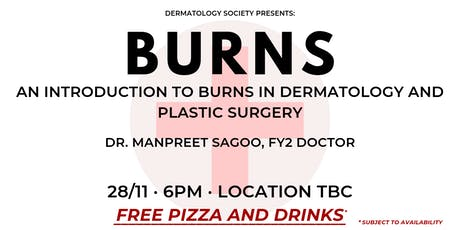 Burns: An Introduction to Burns in Dermatology and Plastic Surgery tickets