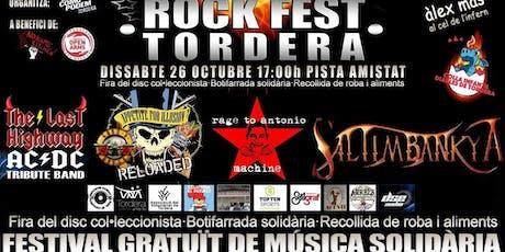 ROCK FEST TORDERA 2019 entradas