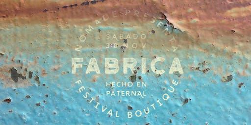 FABRICA Festival Nómade 30/11