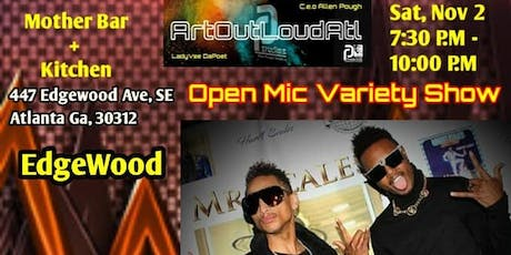Art Out Loud Open Mic Variety Show - Downtown ATL tickets