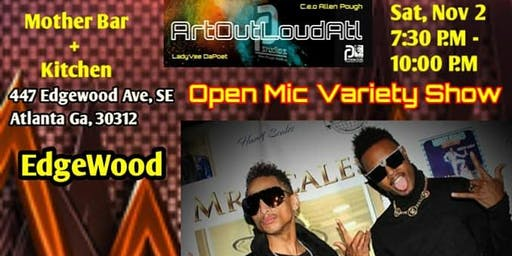 Art Out Loud Open Mic Variety Show - Downtown ATL