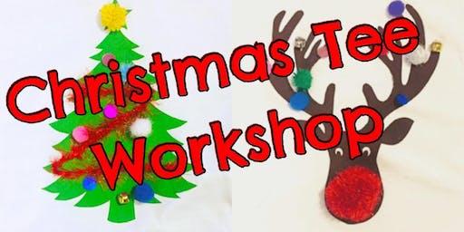 Print your own Christmas Tee @Woodthorpe grange Christmas