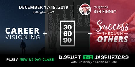 2019 Career Visioning + Disrupt the Disruptors tickets