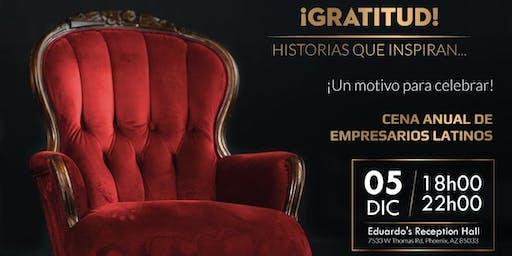 Gala Empresarios Latinos...Gratitud!