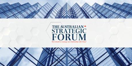 The Australian's Strategic Forum tickets