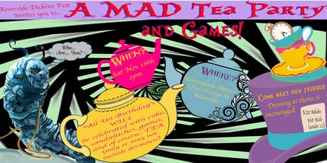 Alice in Wonderland Family Tea & Games at Marmalade Manor tickets