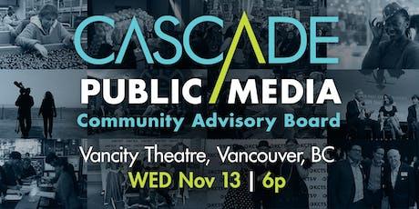 Cascade Public Media Community Advisory Board Listening Session tickets