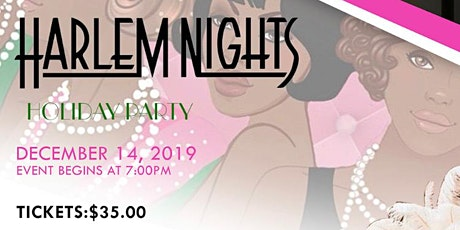 AKA Harlem Nights Holiday Party  tickets