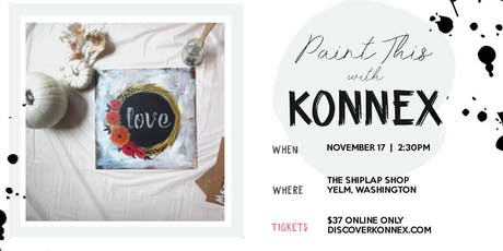 Holiday coffee and canvas paint and sip tickets