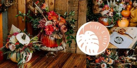 Floral pumpkin workshop - Halloween Events Hull tickets