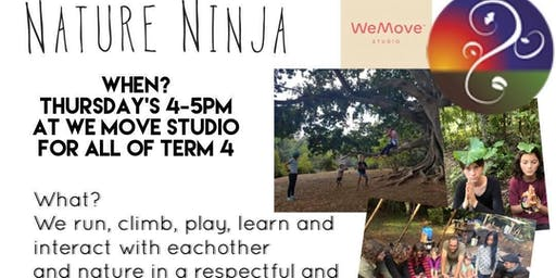 Nature Ninja Term 4 At We Move Studio