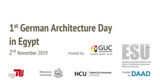 1st German Architecture Day in Egypt (Arch-DE)
