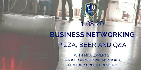 Business Networking at Stony Creek Brewery tickets