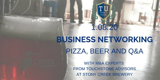 Business Networking at Stony Creek Brewery