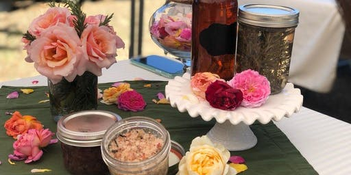 Garden Gatherings: Rose Petal Bath and Body Class (11 am)